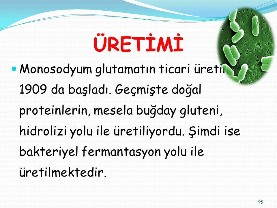 ÜRETİMİ