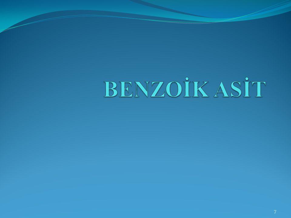 BENZOİK ASİT