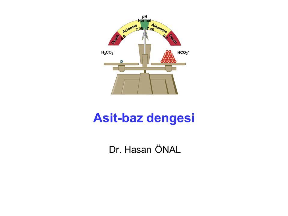 Asit-baz dengesi Dr. Hasan ÖNAL