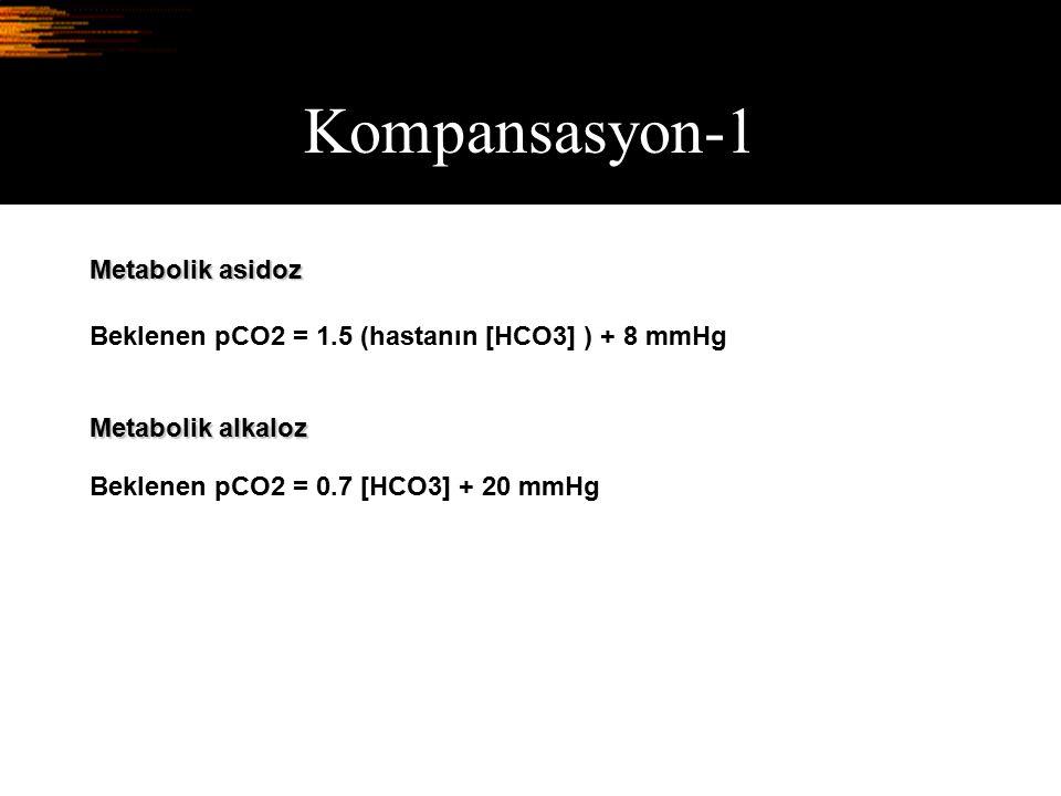 Kompansasyon-1 Metabolik asidoz