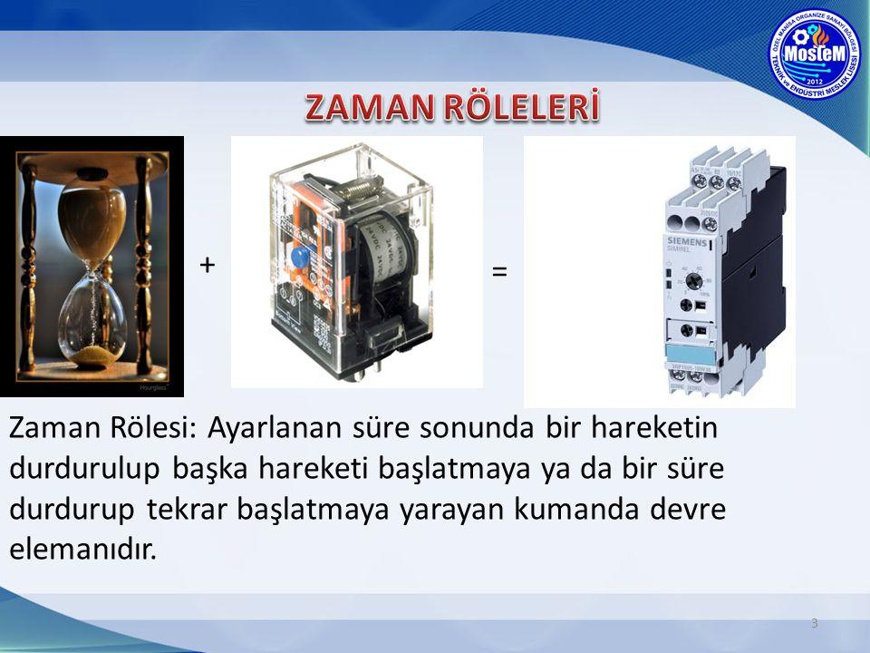 ZAMAN RÖLELERİ + =