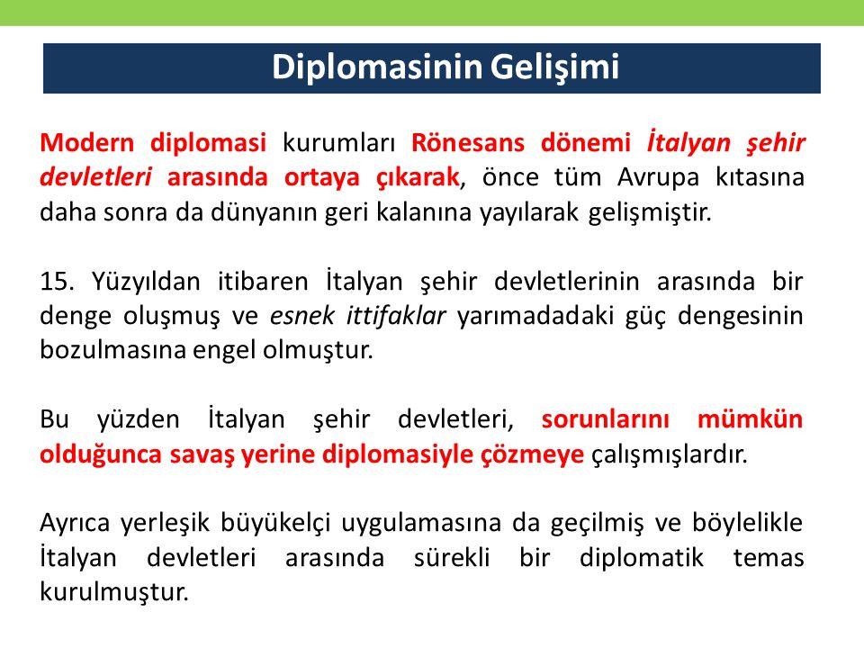 Diplomasinin Gelişimi