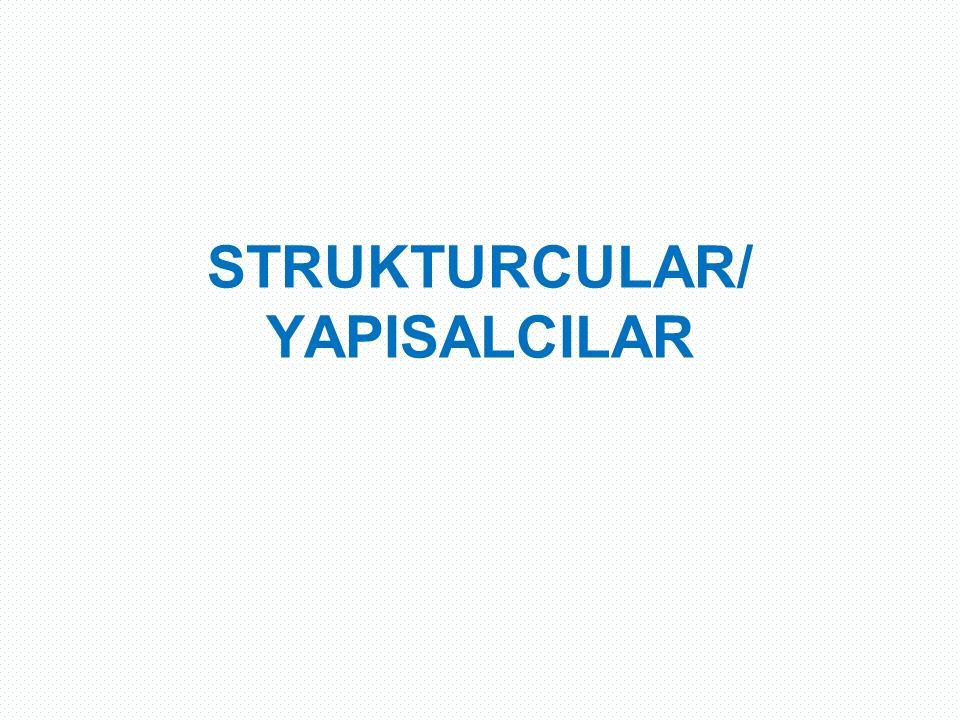 STRUKTURCULAR/ YAPISALCILAR
