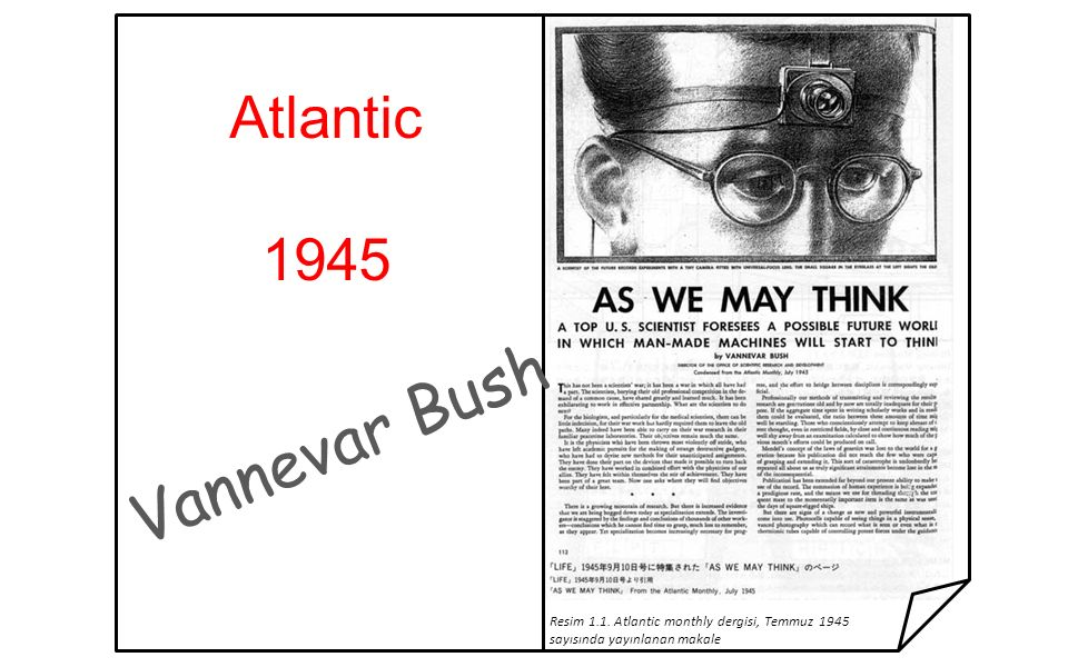 Vannevar Bush Atlantic 1945