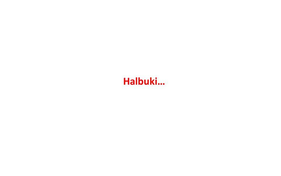 Halbuki…