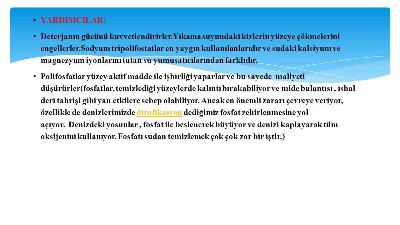 YARDIMCILAR: