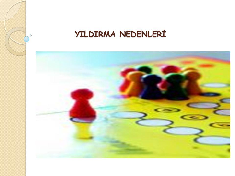 YILDIRMA NEDENLERİ