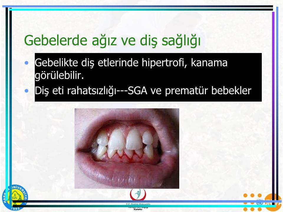Gebelerde ağız ve diş sağlığı