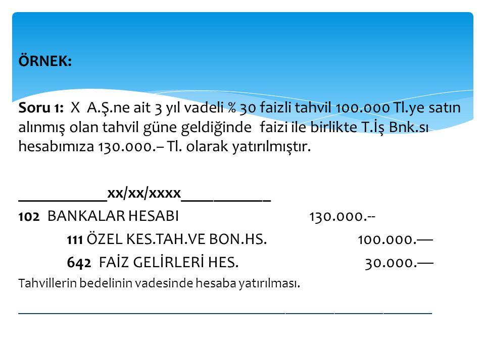___________xx/xx/xxxx___________ 102 BANKALAR HESABI 130.000.--