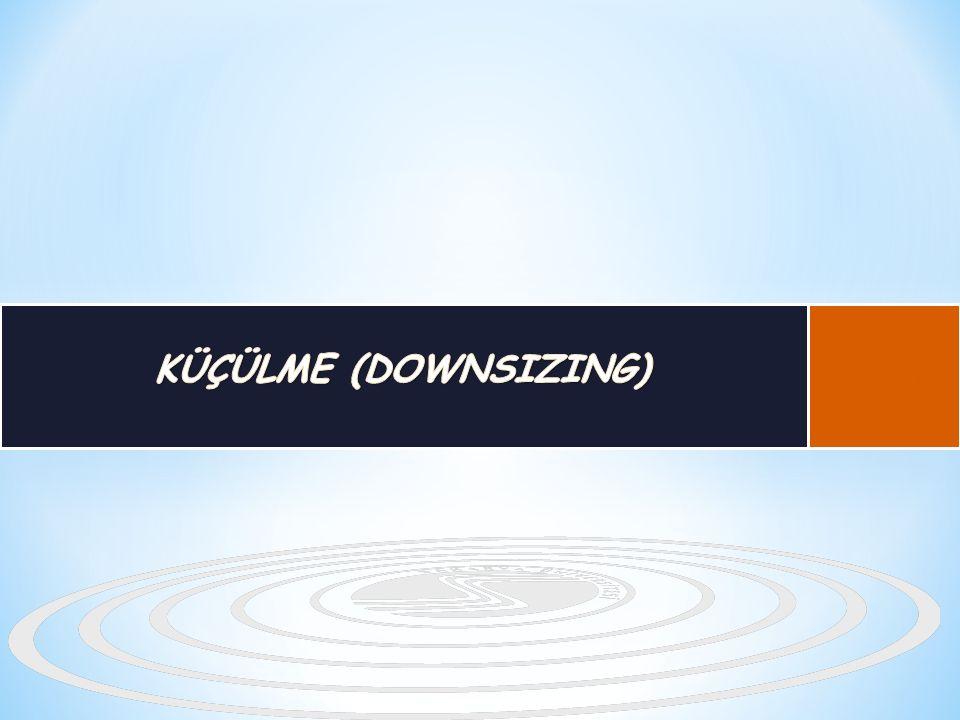 KÜÇÜLME (DOWNSIZING) B