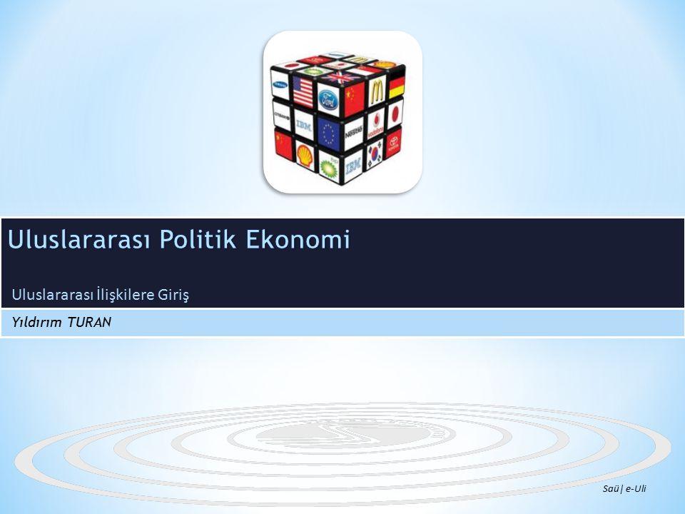 Uluslararası Politik Ekonomi