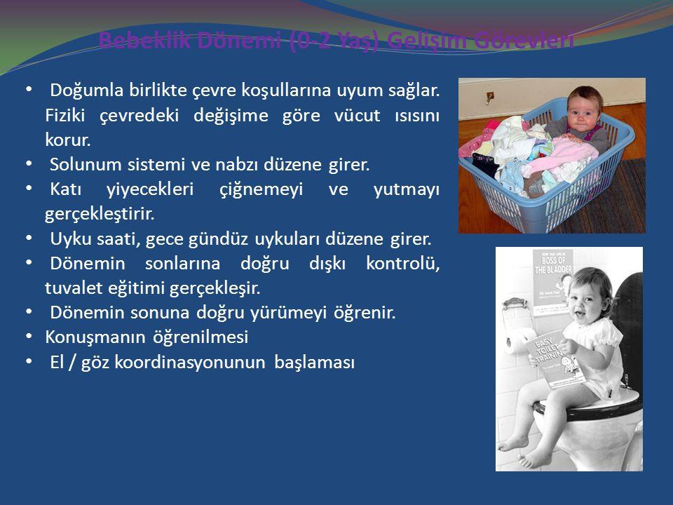 Bebeklik Dönemi (0-2 Yaş) Gelişim Görevleri