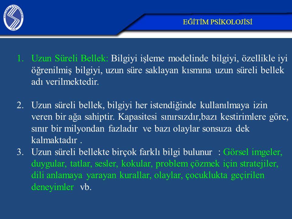 26.04.2017 EĞİTİM PSİKOLOJİSİ.