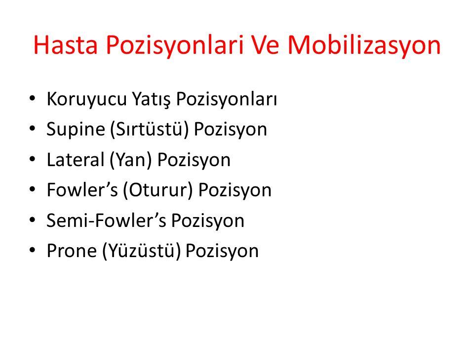 Hasta Pozisyonlari Ve Mobilizasyon