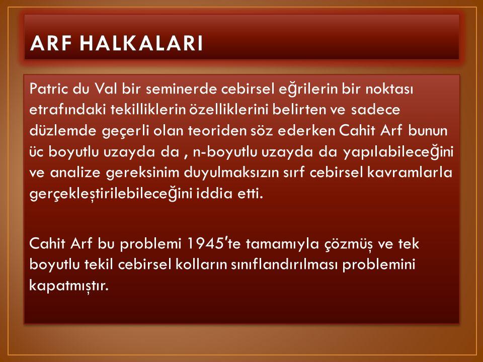 ARF HALKALARI