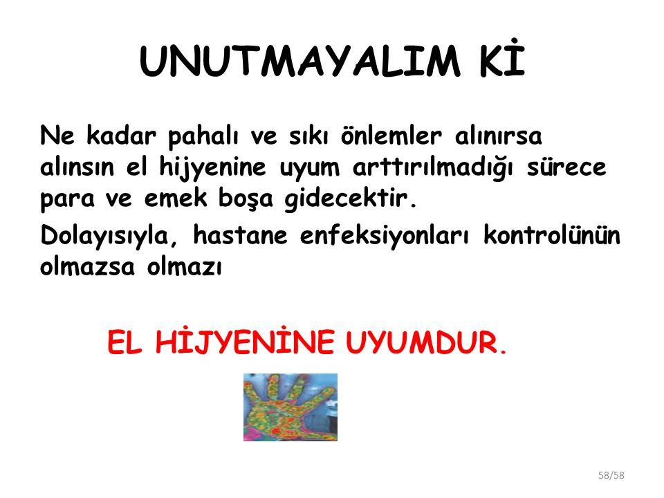 UNUTMAYALIM Kİ