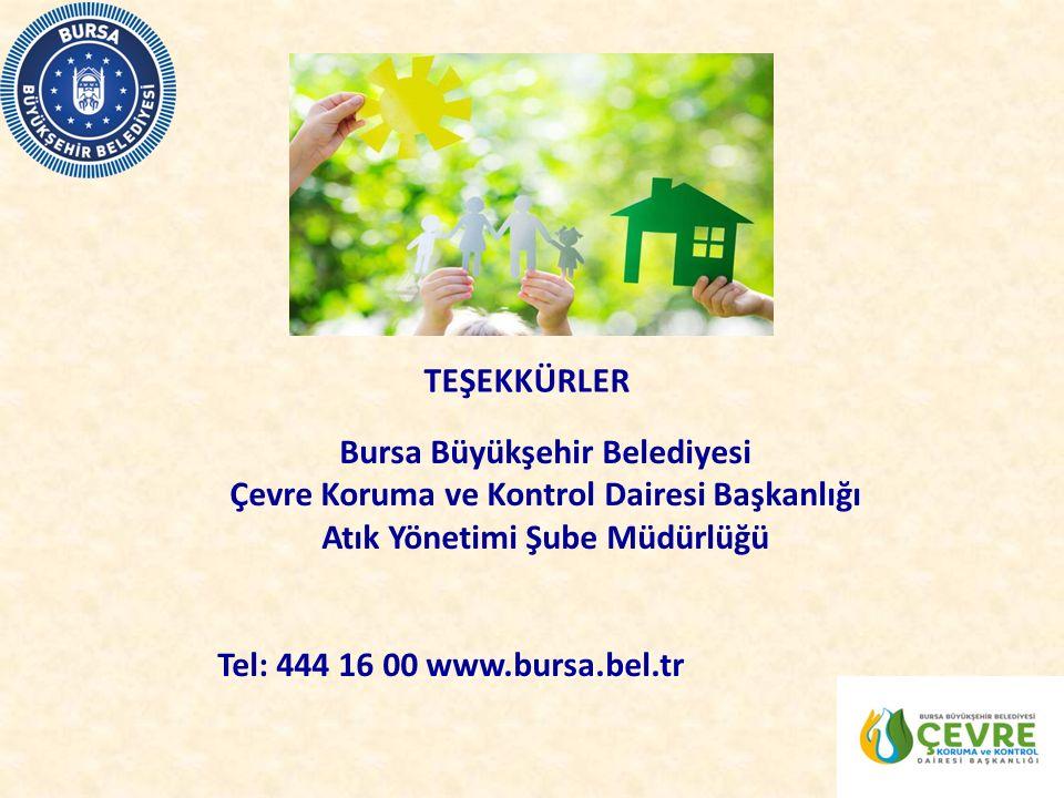 Bursa Büyükşehir Belediyesi Çevre Koruma ve Kontrol Dairesi Başkanlığı