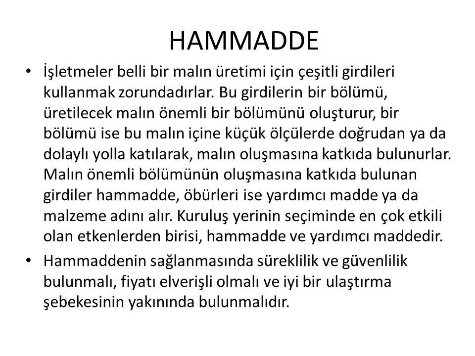 HAMMADDE