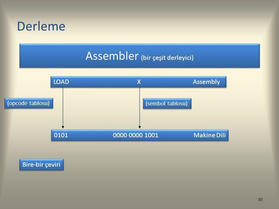 Assembler (bir çeşit derleyici)