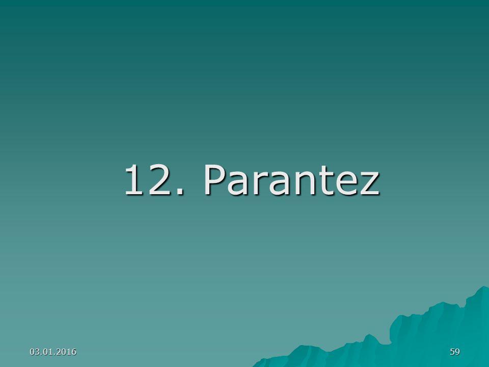12. Parantez 26.04.2017