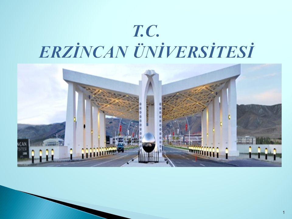 T.C. ERZİNCAN ÜNİVERSİTESİ