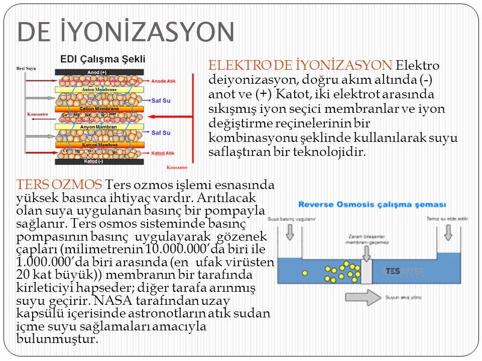 DE İYONİZASYON