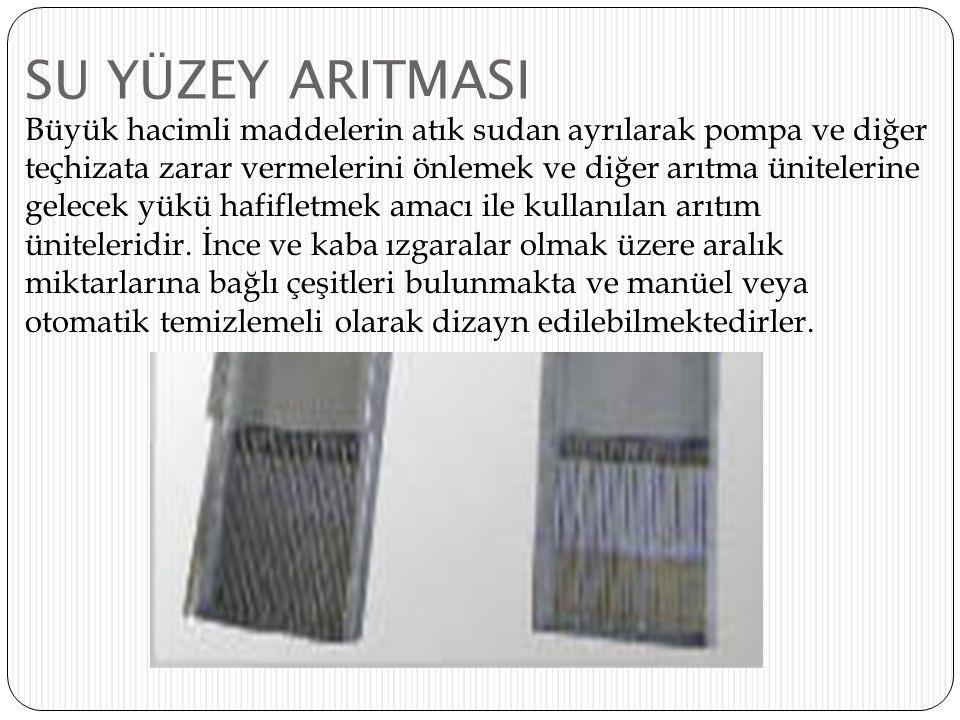 SU YÜZEY ARITMASI