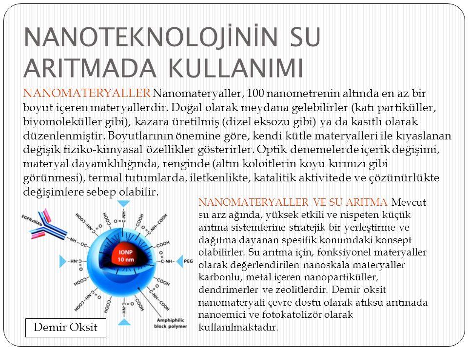 NANOTEKNOLOJİNİN SU ARITMADA KULLANIMI