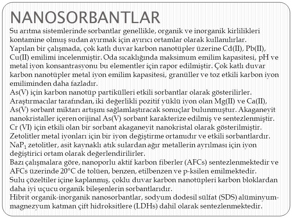 NANOSORBANTLAR