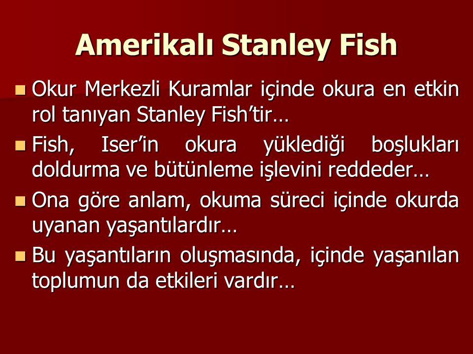 Amerikalı Stanley Fish