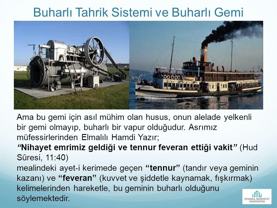 Buharlı Tahrik Sistemi ve Buharlı Gemi