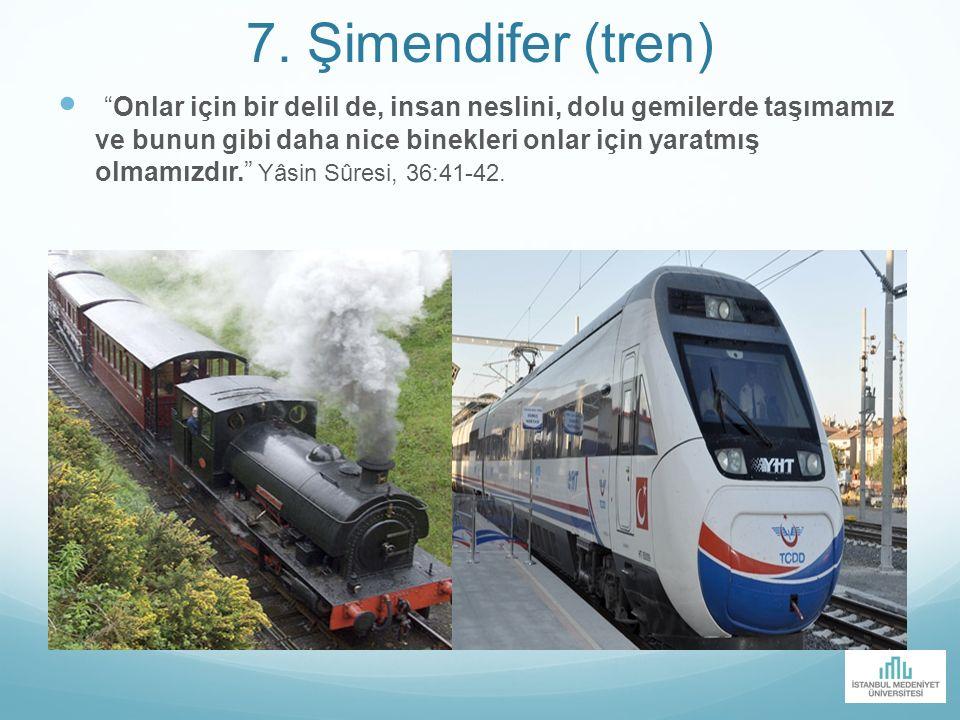 7. Şimendifer (tren)