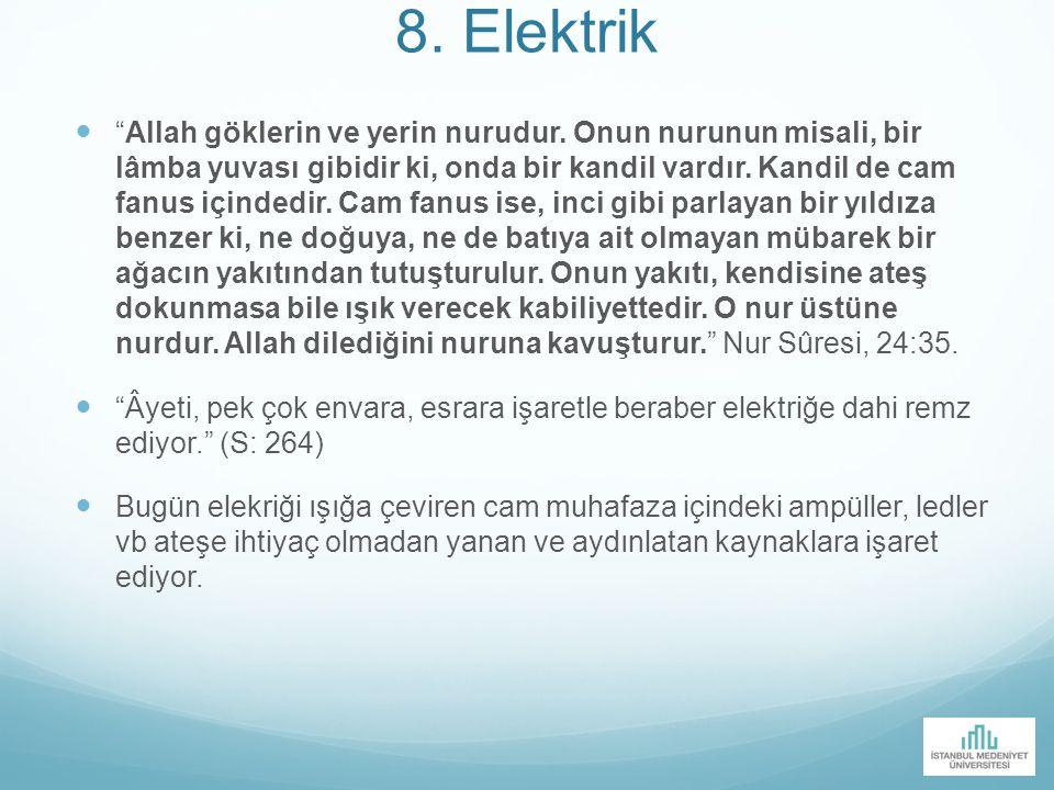 8. Elektrik