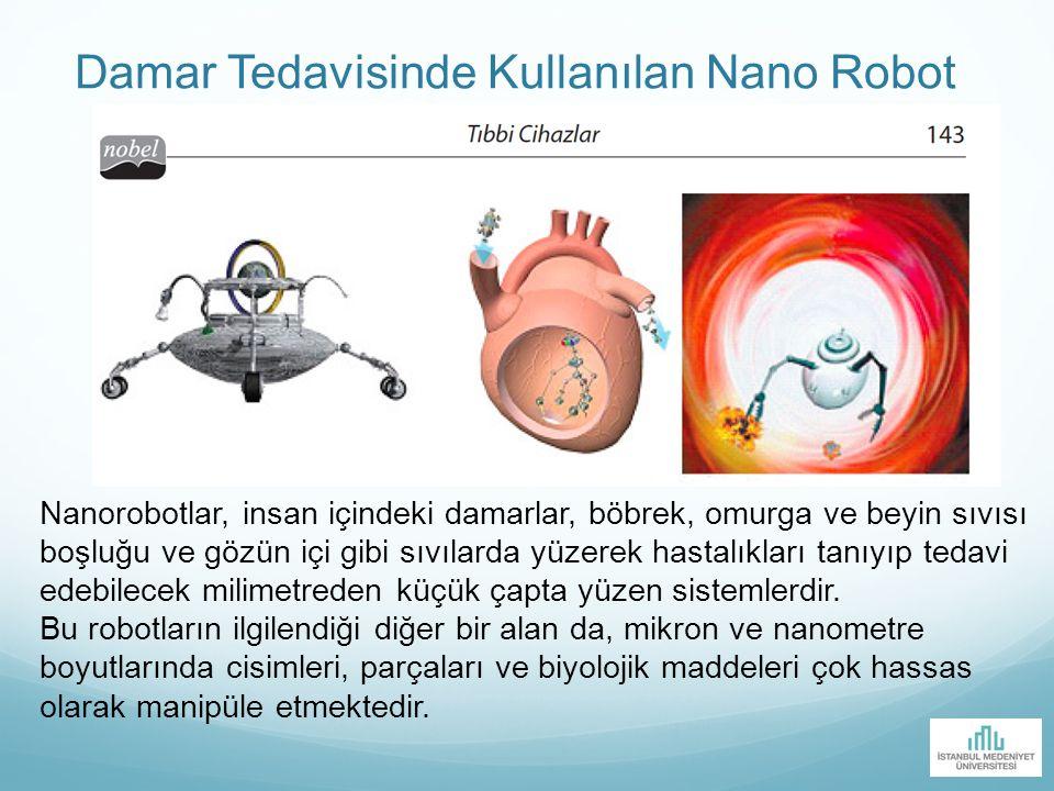 Damar Tedavisinde Kullanılan Nano Robot