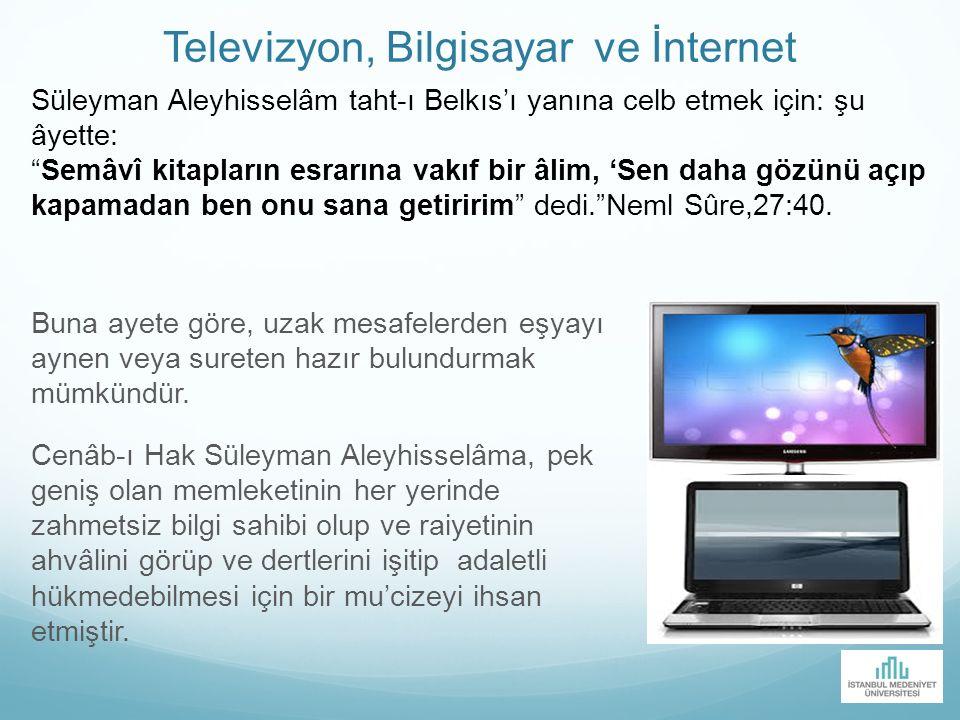 Televizyon, Bilgisayar ve İnternet