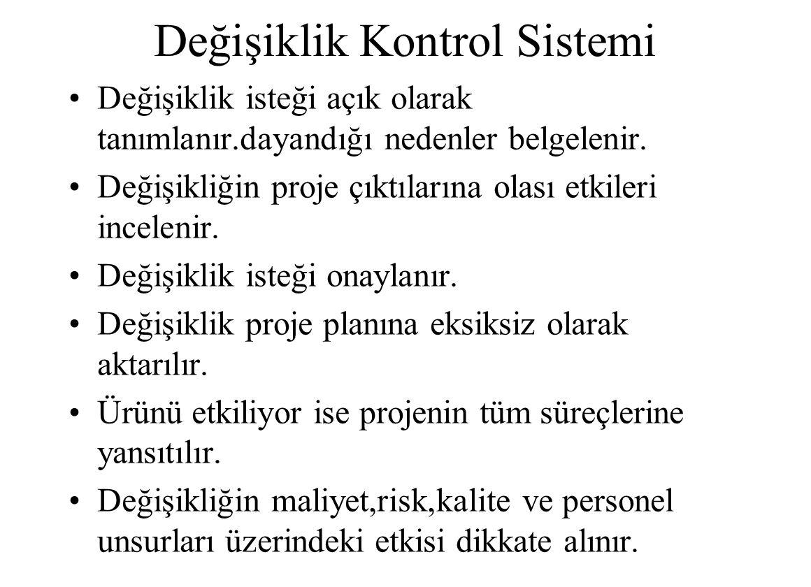 Değişiklik Kontrol Sistemi