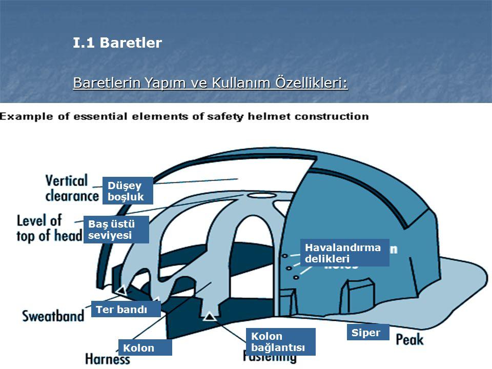 Baretlerin Yapım ve Kullanım Özellikleri:
