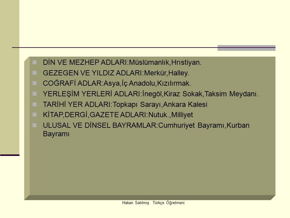 Hakan Satılmış Türkçe Öğretmeni