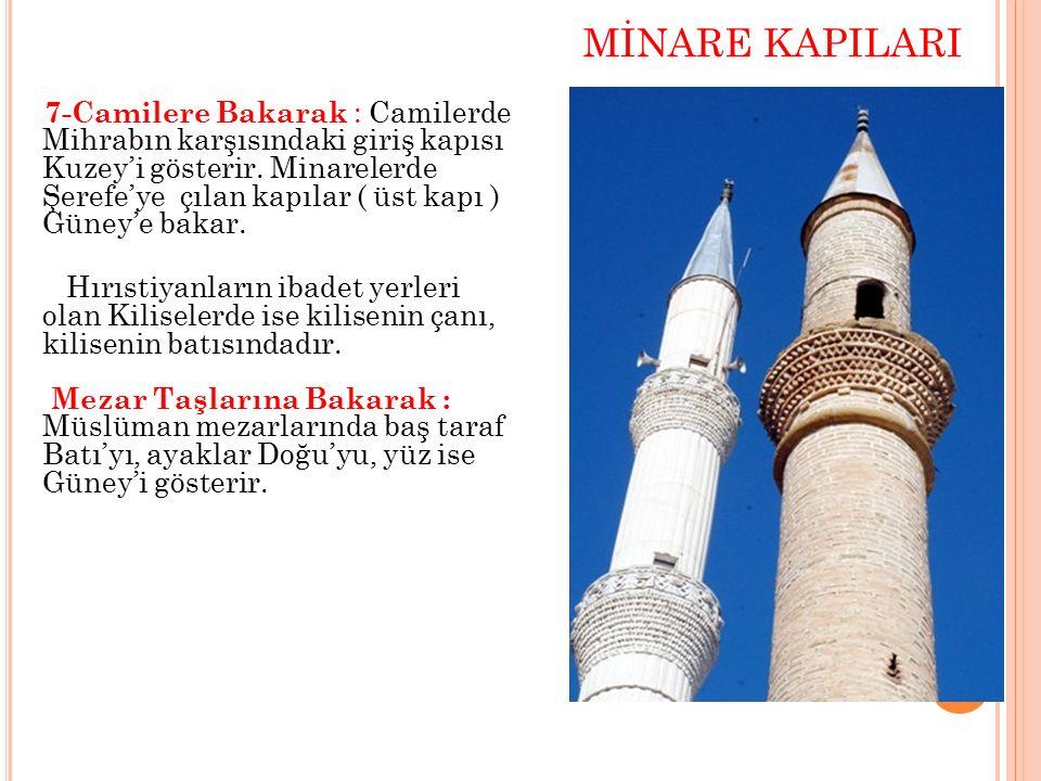 MİNARE KAPILARI