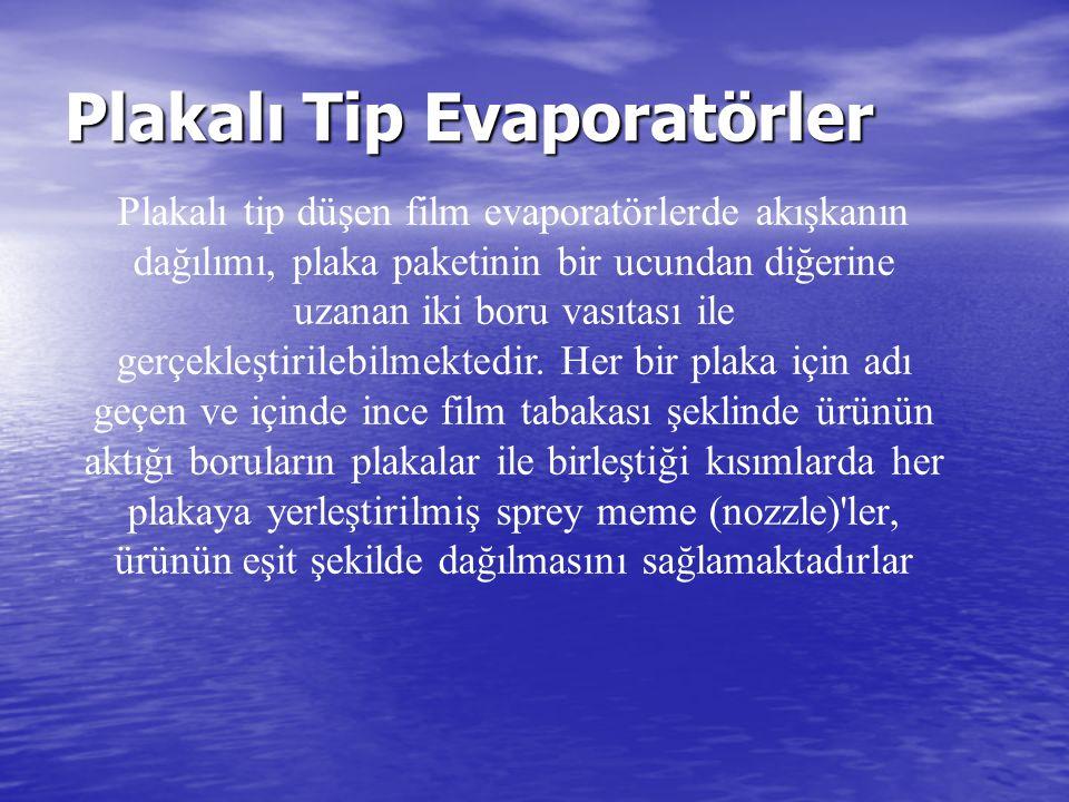 Plakalı Tip Evaporatörler