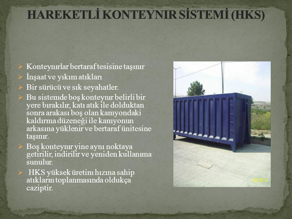 HAREKETLİ KONTEYNIR SİSTEMİ (HKS)