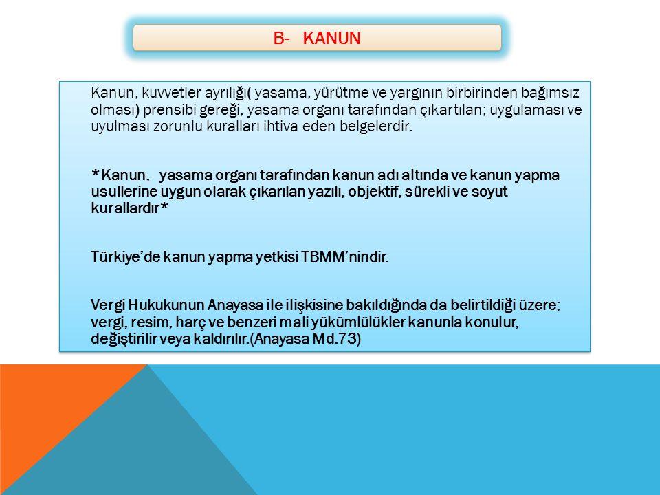 B- KANUN