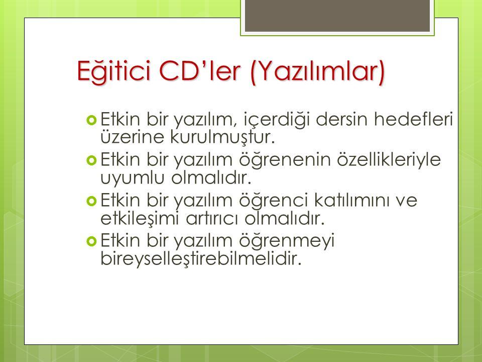 Eğitici CD'ler (Yazılımlar)