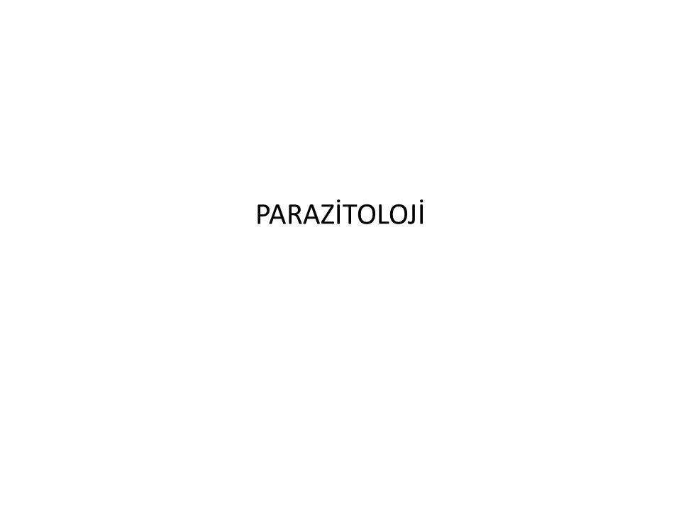 PARAZİTOLOJİ