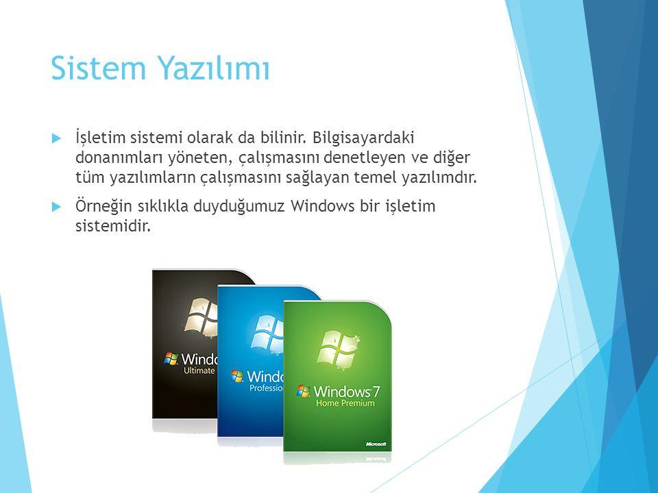 Sistem Yazılımı