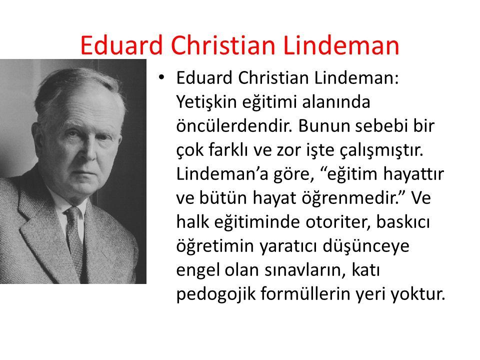 Eduard Christian Lindeman