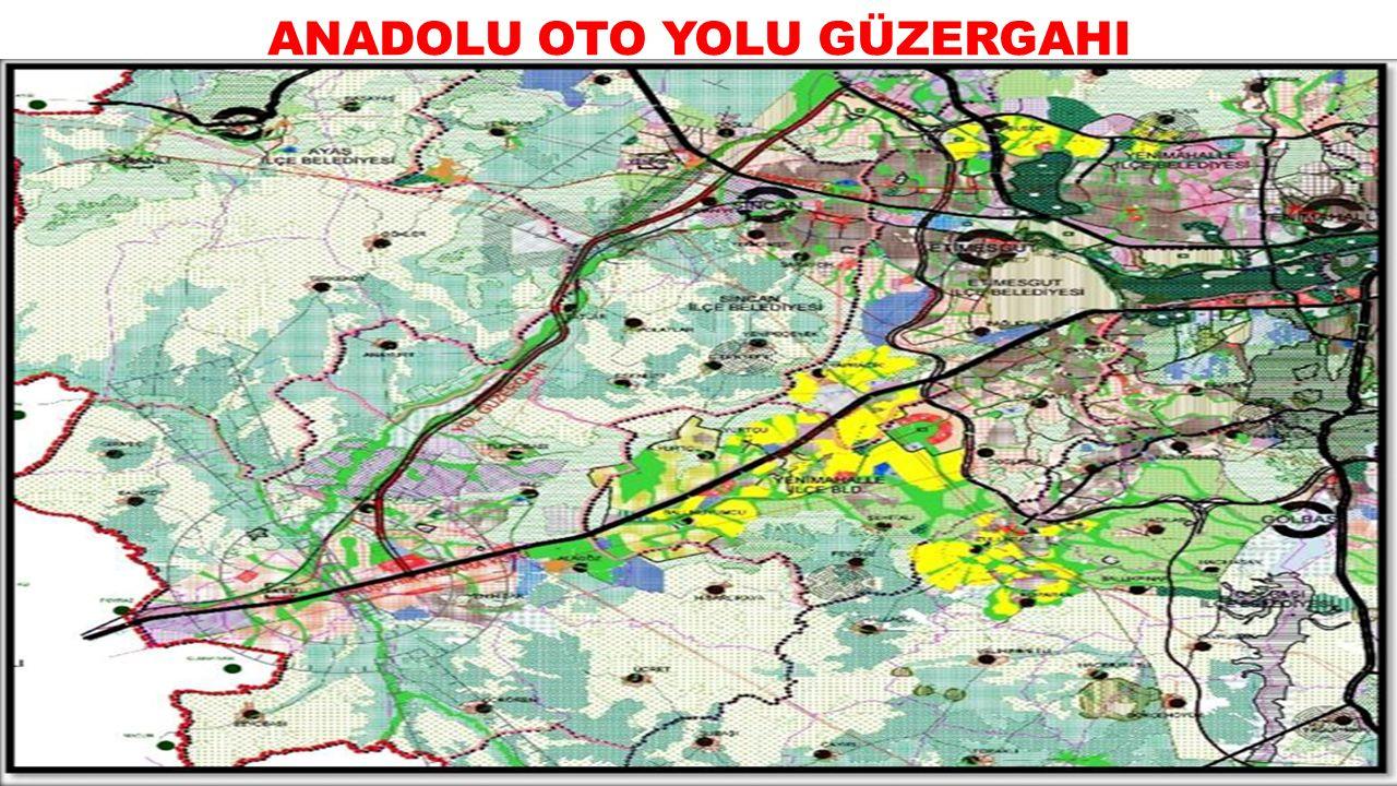 ANADOLU OTO YOLU GÜZERGAHI