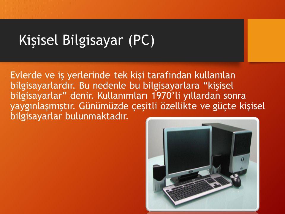 Kişisel Bilgisayar (PC)