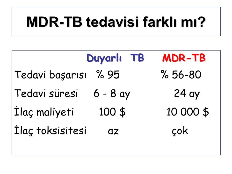 MDR-TB tedavisi farklı mı