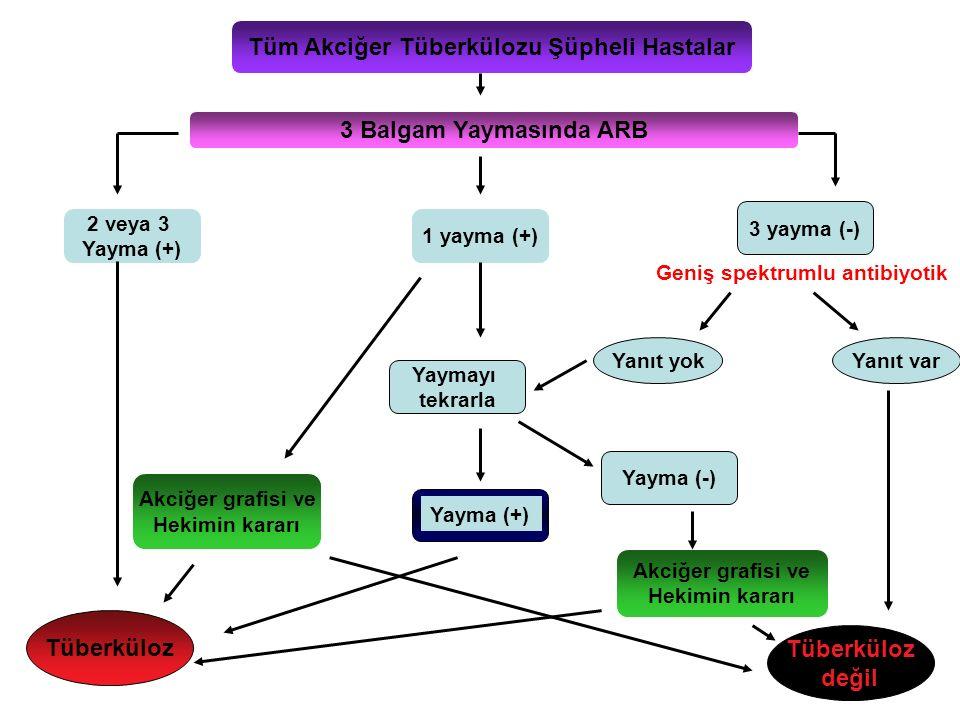 Tüm Akciğer Tüberkülozu Şüpheli Hastalar
